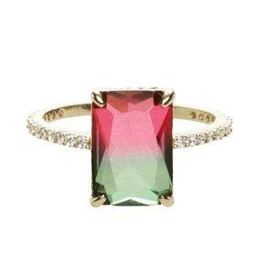 Chloe + Isabel Dandelyan Pavé Ring New Rare